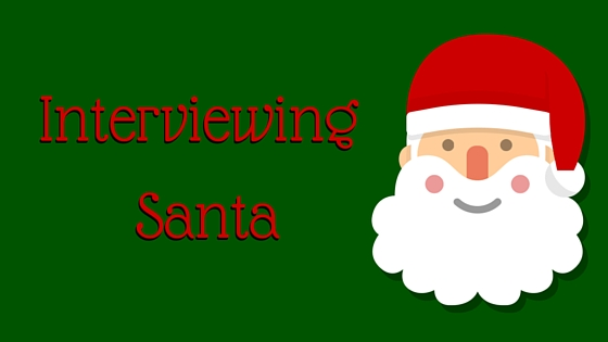 Blog Interviewing Santa Wed 12-23
