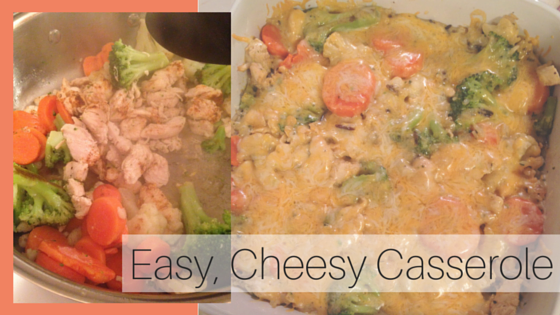 Easy, Cheesy Casserole