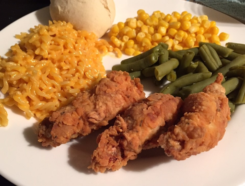 homemade fried chicken